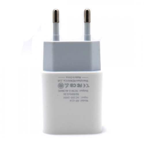 Kucni punjac REMAX RP-U14 2 4A za Iphone lightning beli preview