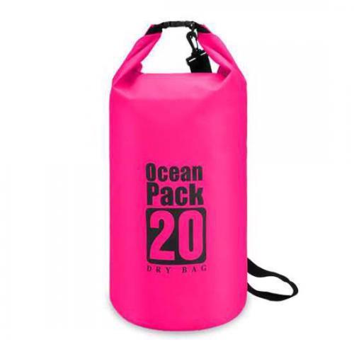 Vodootporna torba 20L roze preview