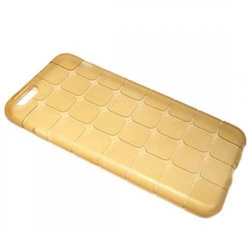 Futrola silikon FINE za Iphone 6 Plus zlatna preview