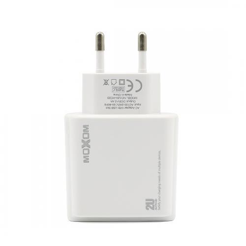 Kucni punjac Moxom MX-HC20 2xUSB 5V/2 4A microUSB beli preview