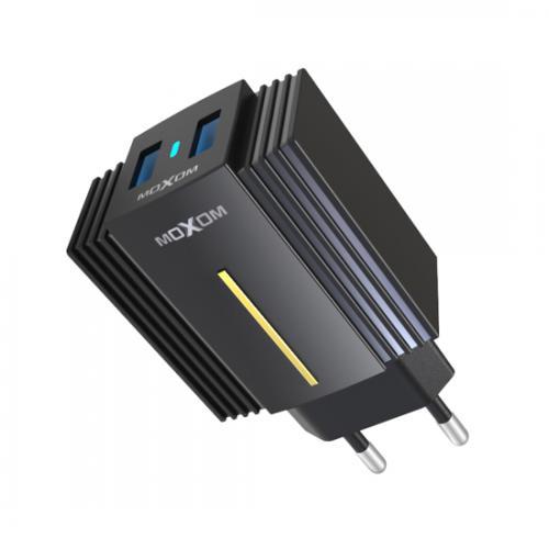 Kucni punjac  Moxom MX-HC12QC 3 0 Fast  type C crni preview