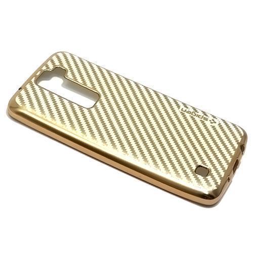 Futrola SPIGEN EX za LG K8 K350N zlatna/bela preview