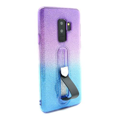 Futrola GLITTER FINGER RING za Samsung G965F Galaxy S9 Plus DZ02 preview