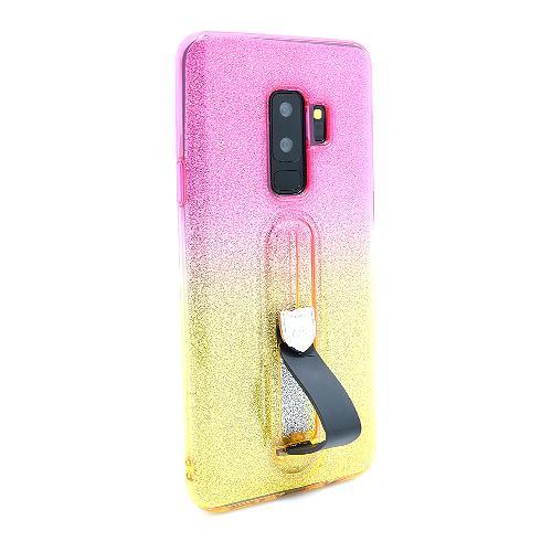 Futrola GLITTER FINGER RING za Samsung G965F Galaxy S9 Plus DZ04 preview