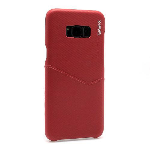 Futrola X-LEVEL Enjoy card za Samsung G955F Galaxy S8 Plus bordo preview