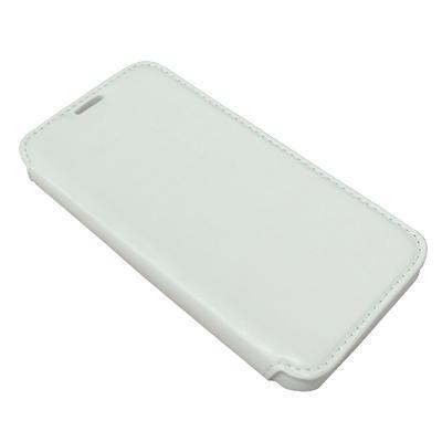 Futrola BI FOLD silikon bez prozora za Alcatel OT-6034 Idol S bela preview
