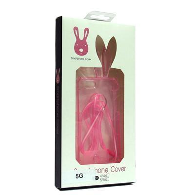Futrola ZECJE USI silikon za Iphone 5G/5S/SE roze preview